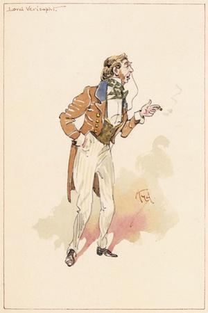 Lord Verisopht, 1883 by Joseph Clayton Clarke