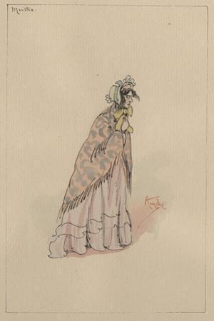 Martha Endell, C.1920s by Joseph Clayton Clarke