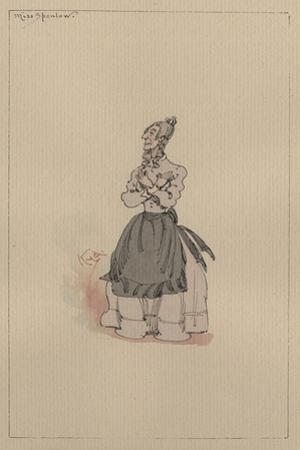 Miss Spenlow, C.1920s by Joseph Clayton Clarke