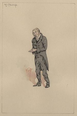 Mr Chillip, C.1920s by Joseph Clayton Clarke