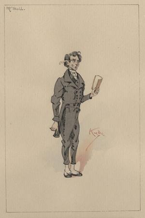 Mr Mell, C.1920s by Joseph Clayton Clarke