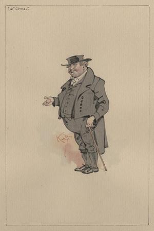Mr Omar, C.1920s by Joseph Clayton Clarke