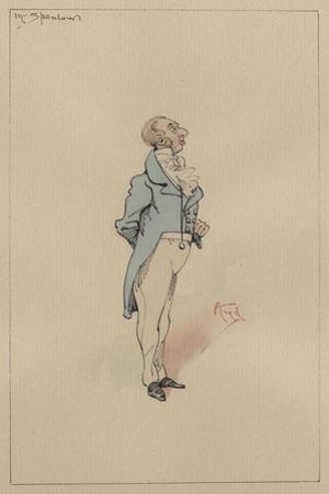 Mr Spenlow, C.1920s by Joseph Clayton Clarke