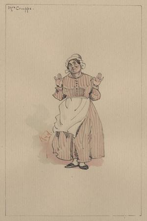 Mrs Crupps, C.1920s by Joseph Clayton Clarke