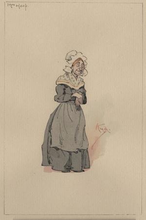 Mrs Heep, C.1920s by Joseph Clayton Clarke