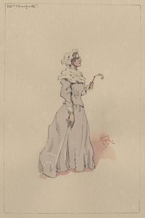 Mrs Steerforth, C.1920s by Joseph Clayton Clarke