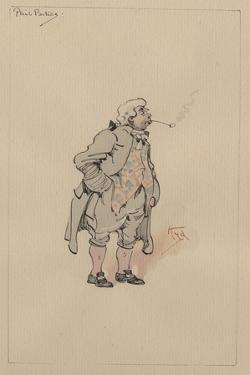 Phil Parkes, C.1920s by Joseph Clayton Clarke