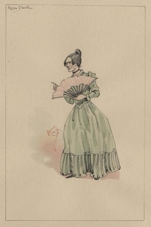 Rosa Dartle, C.1920s by Joseph Clayton Clarke