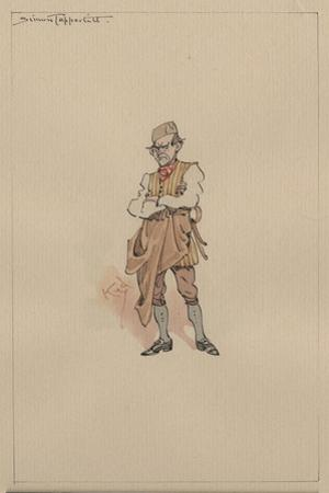 Simon Tappertit, C.1920s by Joseph Clayton Clarke