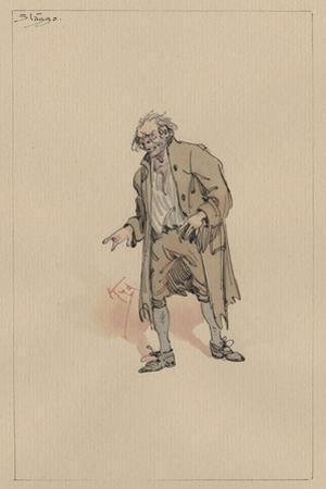 Stagg, C.1920s by Joseph Clayton Clarke