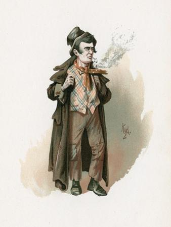 The Artful Dodger, Illustration from 'Character Sketches from Charles Dickens', C.1890 by Joseph Clayton Clarke