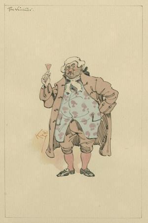 The Vintner, C.1920s by Joseph Clayton Clarke