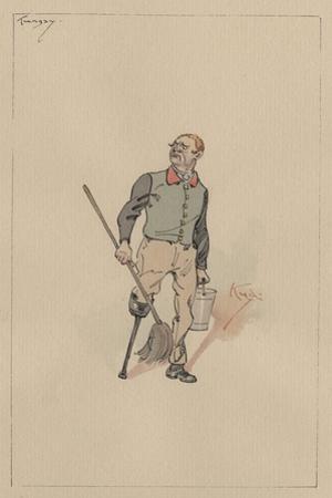 Tungay, C.1920s by Joseph Clayton Clarke
