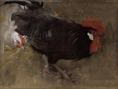 The Black Cock by Joseph Crawhall