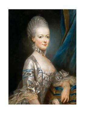 Portrait of Archduchess Maria Antonia of Austria (1755-179) by Joseph Ducreux
