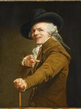 Portrait of the Artist in the Guise of a Mockingbird by Joseph Ducreux