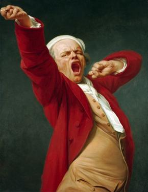 Self-Portrait, Yawning by Joseph Ducreux