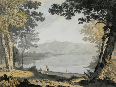 View of Skiddaw and Derwentwater, C.1780 (W/C and Pen over Pencil)
