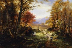Changing Pastures, Evening by Joseph Farquharson