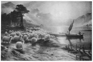 'The Ferry on the Loch', c1890, (1911) by Joseph Farquharson