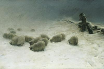 The Joyless Winter Day by Joseph Farquharson