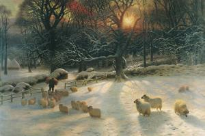 The Shortening Winter's Day by Joseph Farquharson