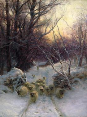 The Sun Had Closed the Winter Day, 1904 by Joseph Farquharson