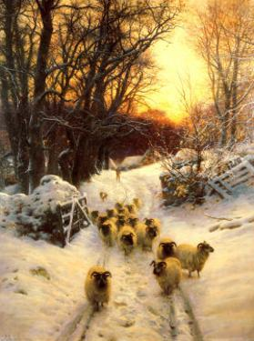The Sun Had Closed by Joseph Farquharson