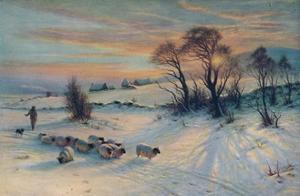 The Winter's Glow, 19th century, (1913) by Joseph Farquharson