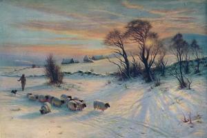 The Winter's Glow, 19th century, (1913) by Joseph Farquharson