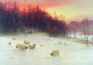 When the West with Evening Glows, Exh.1910 by Joseph Farquharson