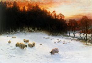Winter Sunset by Joseph Farquharson