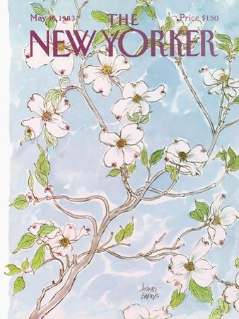 The New Yorker Cover - May 16, 1983 by Joseph Farris