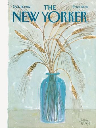 The New Yorker Cover - October 18, 1982