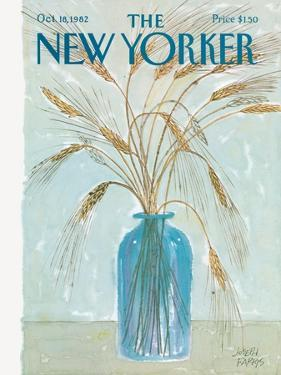 The New Yorker Cover - October 18, 1982 by Joseph Farris