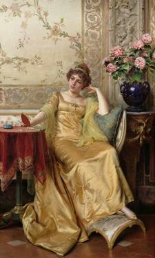 Meditation by Joseph Frederic Soulacroix