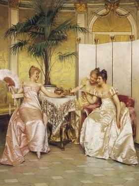 The Love Letter by Joseph Frederic Soulacroix