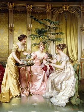 Three for Tea by Joseph Frederic Soulacroix