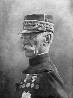 Joseph Gallieni, French First World War General, September 1914