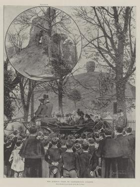 The Queen's Visit to Castleknock College by Joseph Holland Tringham