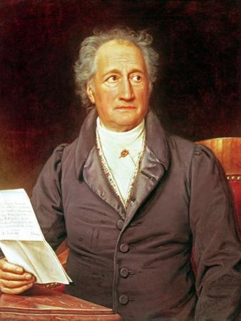 Johann Wolfgang Von Goethe (1749-1832) 1828 by Joseph Karl Stieler