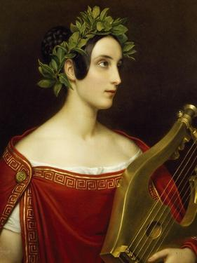 Lady Theresa Spence in Role of Sappho, 1837 by Joseph Karl Stieler