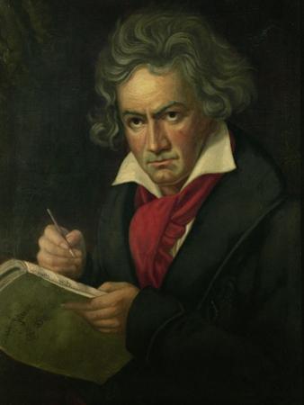 Ludwig van Beethoven (1770-1827) by Joseph Karl Stieler