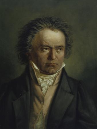 Ludwig Van Beethoven, 1816/1818 by Joseph Karl Stieler
