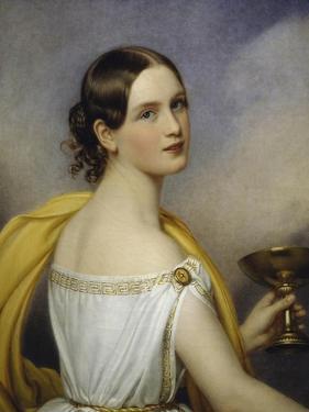 Portrait of Antonia Wallinger, 1840 by Joseph Karl Stieler