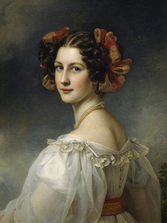 Portrait of Auguste Strobl, 1827 by Joseph Karl Stieler