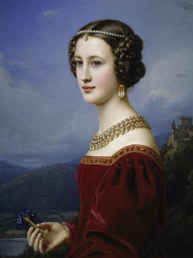 Portrait of Cornelia Vetterlein, 1828 by Joseph Karl Stieler