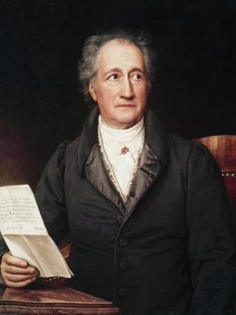 Portrait of Goethe by Joseph Karl Stieler