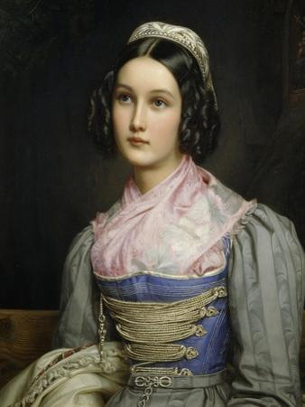 Portrait of Helene Sedelmayer, 1831 by Joseph Karl Stieler