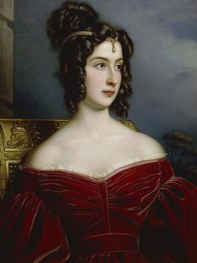 Portrait of Marchesa Marianna Florenzi, 1831 by Joseph Karl Stieler